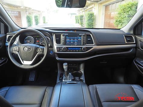 toyota highlander interior vehicles on vacation 2017 toyota highlander hybrid