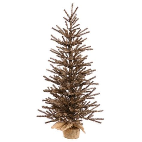 christmas trees 18 quot dark brown artificial christmas twig