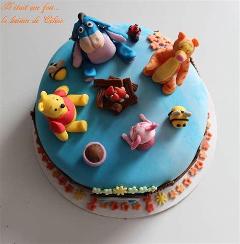 gateau winnie l ourson et ses amis winnie the pooh cake il 233 tait une fois la kuisine de