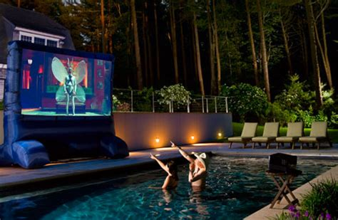 Backyard Home Theater by Outdoor Home Theater Design And Installation Tips Hooked