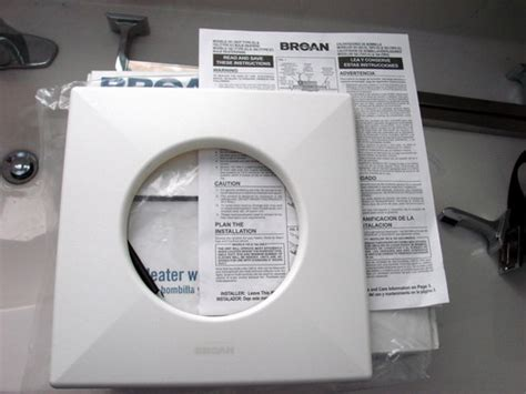 How To Install Bathroom Fan With Light by How To Install A Bathroom Exhaust Fan