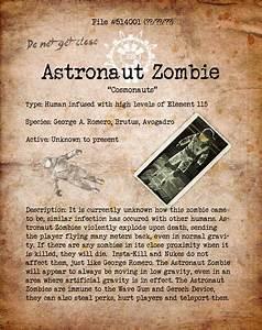 Astronaut Zombie Bio File1 by HexZombies on deviantART