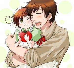 Hetalia Spain and Romano Fan Art