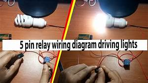 2 5 Pin Relay Wiring Diagram Driving Lights By