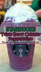 Starbucks Triple Berry Cobbler Frappuccino | Starbucks ...