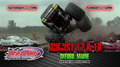 monster truck show maine monster truck throwdown oxford maine august 17 18