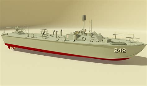 What Is A Pt Boat by Ww2 Pt Boat 3d Models Rpublishing