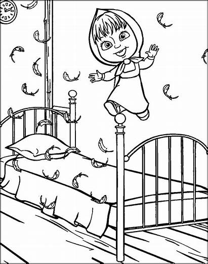 Masha Bear Coloring Pages Episodes