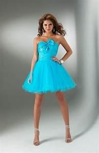 robe de soiree courte eleg With robe turquoise pas cher