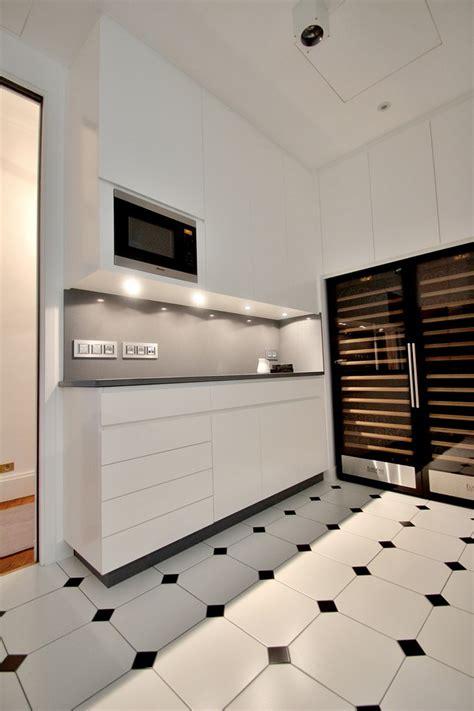 ambassade cuisine rénovation appartement haussmannien classique et chic