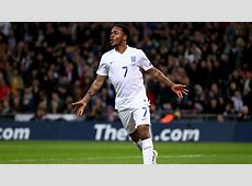 Raheem Sterling Euro 2016 qualifying England v Lithuania