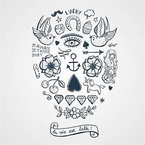 Art De Vie : tatouages ph m res noirs sign s anne claire et bernard ~ Zukunftsfamilie.com Idées de Décoration