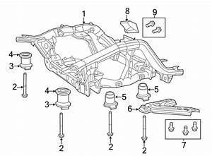 Jeep Grand Cherokee Suspension Subframe Reinforcement
