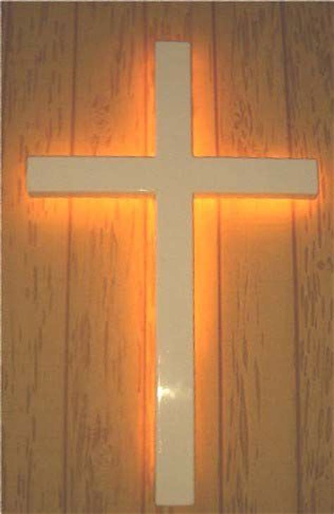 all products in backlit crosses and lighted wall crosses