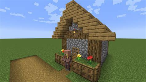 build  minecraft village cartographer  plains youtube