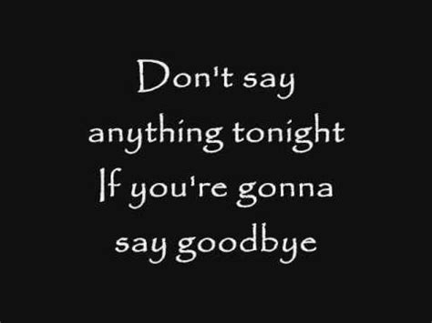 Dont Be Sad If You Friends Because Later There Will Definitely Skillet Say Goodbye Lyrics