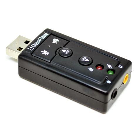 Usb Soundcard 7 1 Channel Sound taffware usb 7 1 channel sound card adapter tc 03