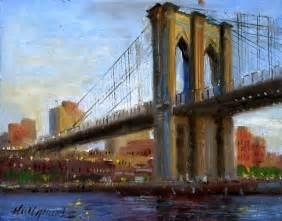 New York City Brooklyn Bridge Painting