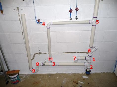 installing a utility sink in basement laundry room sink and washer dwv question terry love