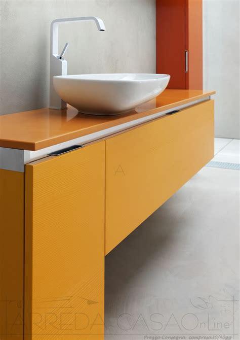 arredo bagno rosso arredo bagno giallo rosso arancione kar39 prezzo