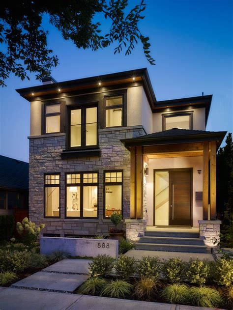 craftsman style exterior lighting engaging modern home design home remodeling vancouver