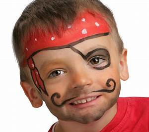 Maquillage Simple Enfant : id es g niales pour un maquillage pirate express ~ Farleysfitness.com Idées de Décoration