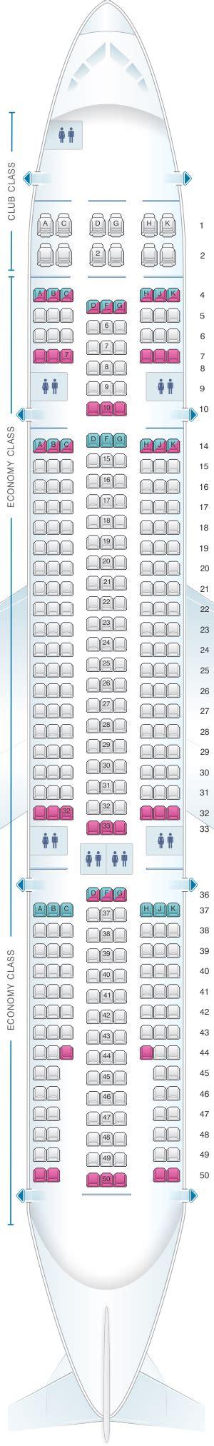 siege air transat plan de cabine air transat airbus a330 200 seatmaestro fr