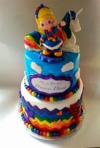 Rainbow Brite Birthday Cake - CakeCentral com