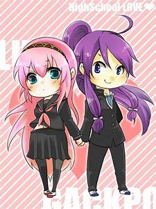 Luka and Gakupo! I don't ship them, but it is still really ...