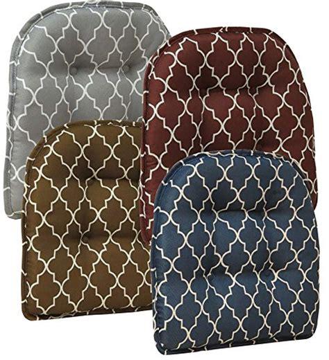 Gripper Chair Pads Gray by Gripper Nonslip Trellis Chair Pad In Gray Chair Cushion