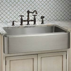 pin by meghan virgadamo on kitchen pinterest With deep apron front sink
