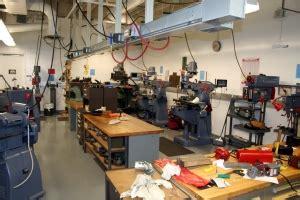department machine shops mechanical  aerospace