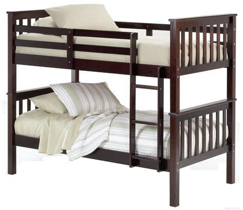 Bunk Beds by Bernards Sadler Bunk Bed Requires Bunkie Boards