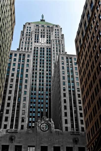 Chicago Trade Board Building Wayne Enterprises Batman