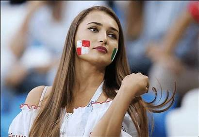 Cup Fans Female Football Hottest Fifa Russia