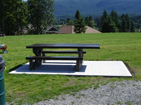 precast concrete picnic tables mackay picnic table wheelchair accessible mackay