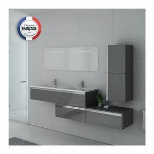 Meuble Salle De Bain Gris : bellissimo gt meuble salle de bain gris taupe ~ Teatrodelosmanantiales.com Idées de Décoration