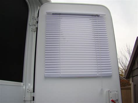 blinds for rv door window cover crossroads rv family forum
