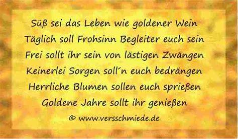 Goldene Hochzeit, Gedichte, Sprüche, Reden