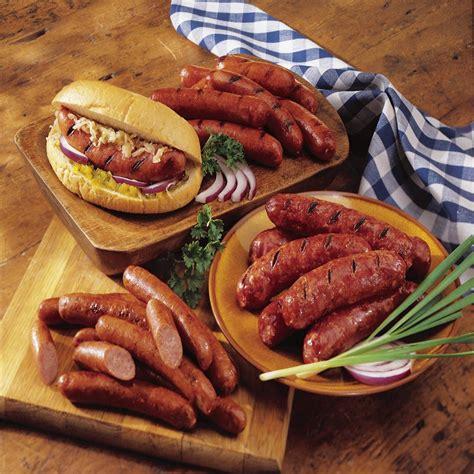 smoked sausage sler smoked sausage nueske s