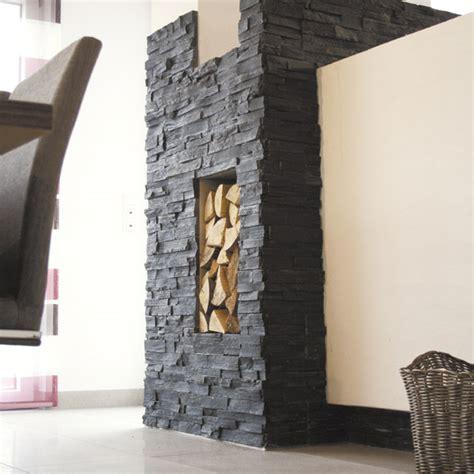 verblender schiefer schwarz  naturstein baumaterial