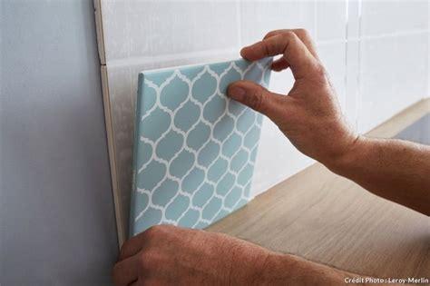 poser carrelage mural cuisine plaque a poser sur carrelage 28 images plaques a