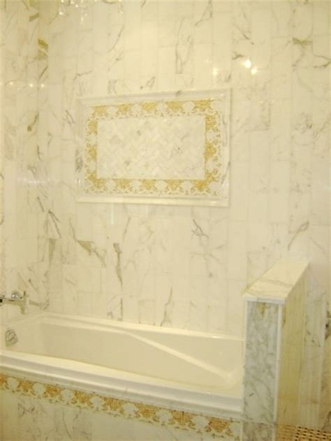 calcutta marble tile calcutta marble tile bathroom traditional tile other metro by tiles unlimited inc