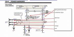 2001 Windstar  Door Window  Need Diagram  Coding Of Wiring