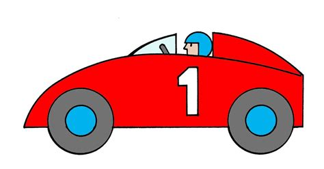 Cartoon Race Car Pictures