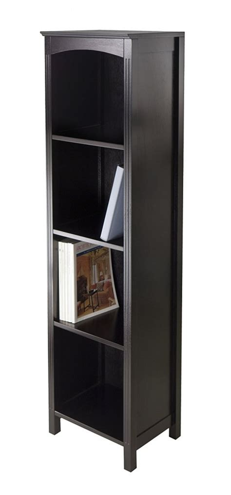 Narrow Open Bookshelf by Top 15 Narrow Bookshelf And Bookcase Collection