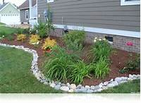 simple landscaping ideas Front Yard Landscaping Ideas Small House Simple Garden Design Smlf Decorating - Saomc.co