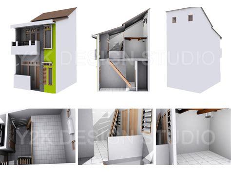 daftar desain rumah modern lahan kecil yg  ideal
