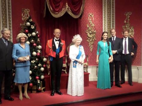 ingresso madame tussaud londra la famiglia reale foto di madame tussauds londra