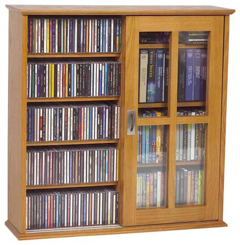 cd dvd storage cabinet ms 350 wall mounted sliding door mission style media